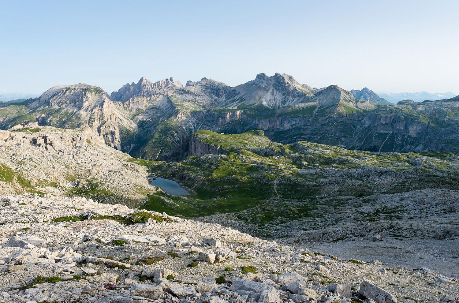 Hiking in the Sella Group
