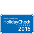 HolidayCheck recommended 2016